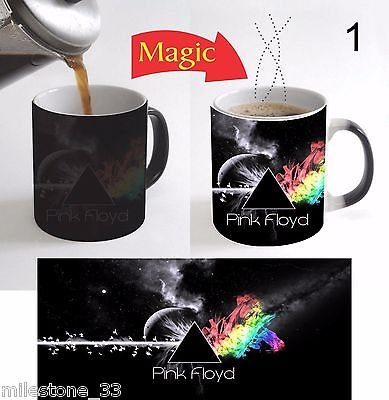 Pink Floyd Rock Band Magic Mug Color Change Coffee Mug 11 Oz Christmas Gift - 1 (Floyd Photos Pink Band)