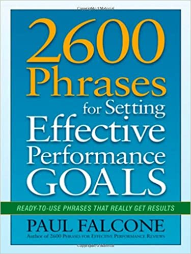 How to write good performance goals
