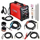 MTS-165, 165 Amp MIG TIG-Torch Stick Arc Combo Welder, Weld Aluminum(MIG) 110/230V Dual Voltage Welding New (MTS-165)