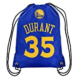 NBA Golden State Warriors Kevin Durant Drawstring Backpack, 18 In. X 13.5 In.