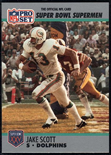 Football NFL 1990-91 Pro Set Super Bowl 160 #112 Jake Scott NM-MT ()