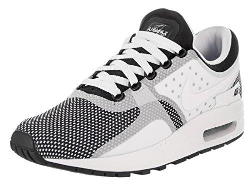 Nike Air Max Nul Essentieel Gs Jeugd Loopschoenen Zwart / Wit-wolf Grijs