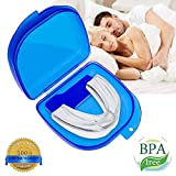 Professional Dental Guard - Stops Teeth Grinding, Bruxism & Eliminates Teeth Clenching, Includes Instructions & Anti-Bacterial Case | Athletic Mouthguard Sports Mouthpiece SATISFACTION GUARANTEED
