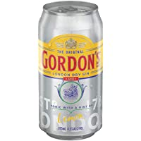 Gordon's Gin and Tonic Can 375ml (Pack of 6)