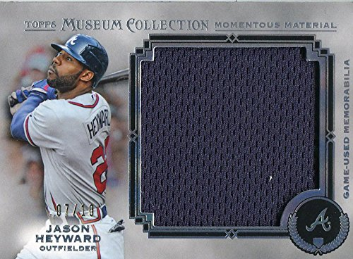 (Jason Heyward Unsigned 2013 Topps Museum Collection Jersey Card)