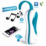 PYLE PWPBT05BL Bluetooth Waterproof Hands-Free Shower...