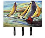 Caroline's Treasures JMK1057TH68 Knost Regatta Pass Christian Sailboats Leash or Key Holder, Large, Multicolor
