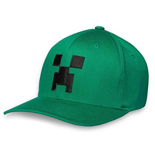 Minecraft Creeper Flexfit Hat S/M (Minecraft Creeper Cap compare prices)