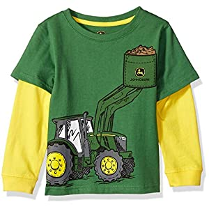 Best Epic Trends 51SoMvbssYL._SS300_ John Deere Little Boy Long Sleeve Tee