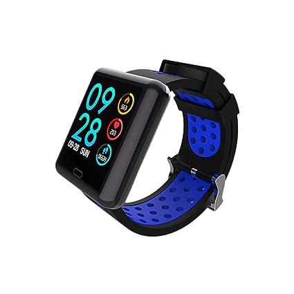 Nyyi Smartwatch, Impermeable Reloj Inteligente con Cronómetro ...