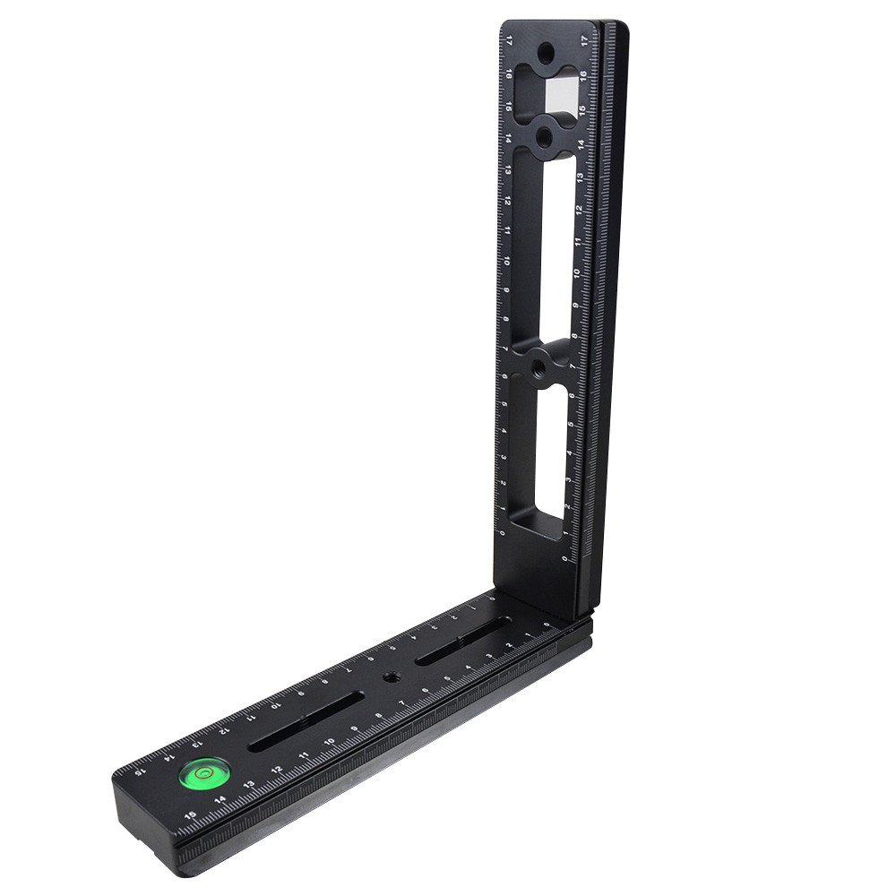 Mengs/® BPL de 01al BPL de 160/BPL de 180/DPL de 100/DPL de 115/DPL de 150/DPL 169/panor/ámico C/ámara Zapata r/ápida de aluminio macizo Traje para todos DSLR C/ámara de 1//4/tornillo integrado