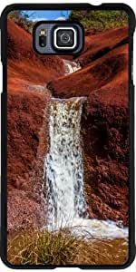 Funda para Samsung Galaxy Alpha - Kauai Waimea Cascada De La Barranca by loki1982