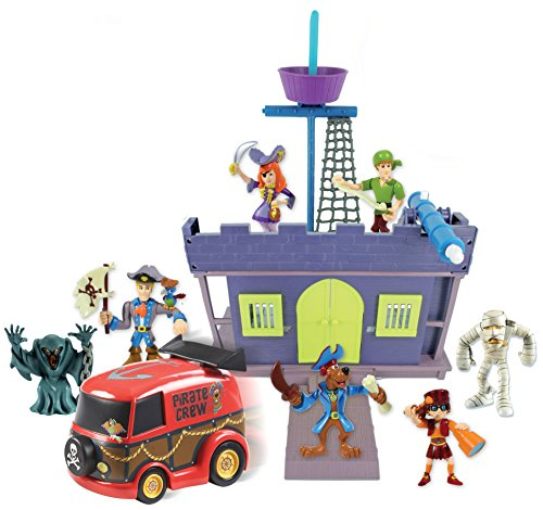 Scooby Doo Pirate Fort and Action Figure 7 Pack]()