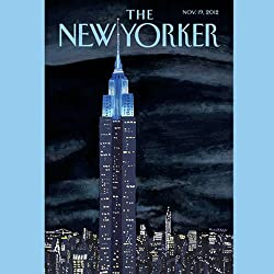 The New Yorker, November 19th 2012 (Ryan Lizza, David Denby, Roger Angell)