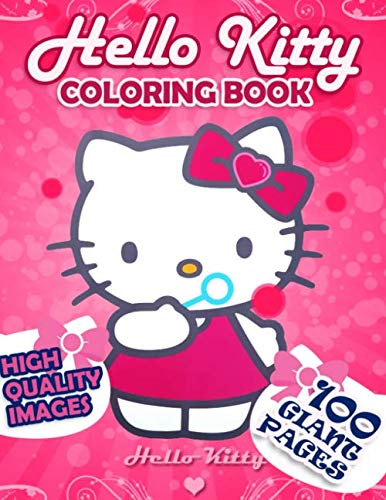 Hello Kitty Coloring book: Cute coloring book for girls ages 3-6