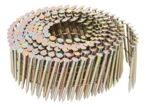 Hitachi 12307 1-1/2-Inch x .083 Ring Electro Galvanized Coil Nail