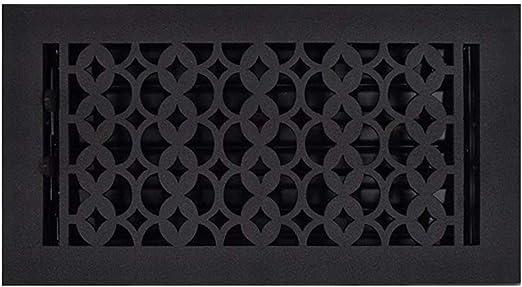 Amazon Com Floor Vent Covers 6x12 Black Cast Iron Floor