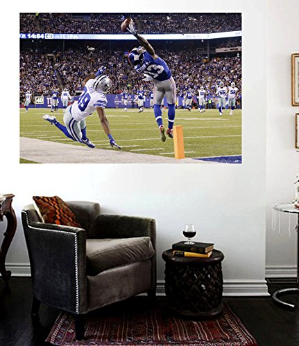 Odell Beckham Catch Canvas Print NY Giants Odell Beckham Poster