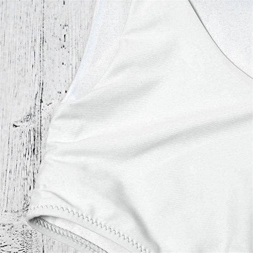 Un Interi Da Plus Costumi Costume Donna White Sexy Italily Donne Imbottito Size Monokini up Bikini Pezzo Push Sexy Bagno Intero wAqIgS