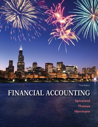 Financial Accounting, 3E, With Access Code For Connect Plus