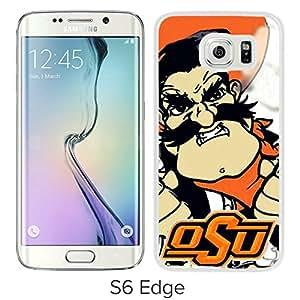 oklahoma state cowboys White Hard Plastic Samsung Galaxy S6 Edge G9250 Phone Cover Case