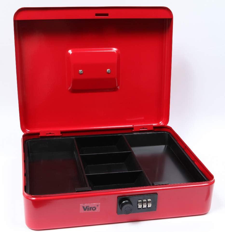 "Mintcraft Cash Box Customizable Combination Lock 11-3//8/"" x 7-5//8/"" x 3-1//4/"""
