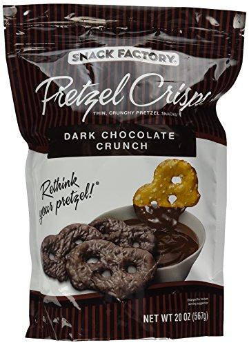 Pretzel Crisps Dark Chocolate Crunch (Pack of 2)