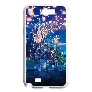 Samsung Galaxy N2 7100 Cell Phone Case White Rapunzel Dreams Disney Illust SLI_591779