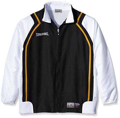 Spalding Herren Bekleidung Teamsport Crunchtime Jacket, Schwarz, XL, 300300102