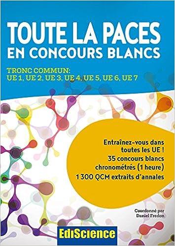 15191749a Amazon.in  Buy Toute la paces en concours blancs - tronc commun   ue ...
