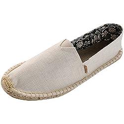 Alexis Leroy Pureness Textile Women¡¯s Flat Espadrilles Beige 38 M EU / 7-7.5 B(M) US