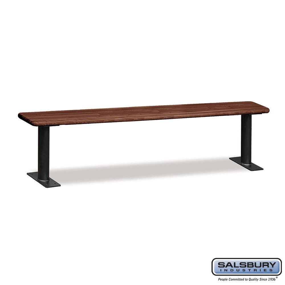 Salsbury Industries Wood Locker Benches, 48-Inch, Dark Finish