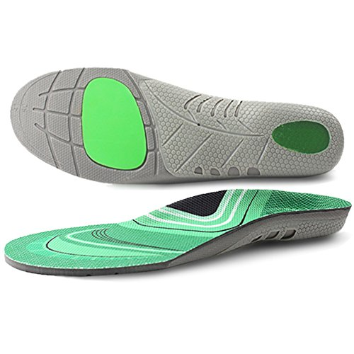 - Ailaka Athlete Arch Support Gel Cushion Sports Shoe Insoles, Performance Running Inserts for Man and Women