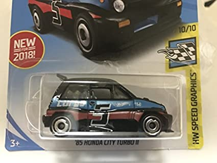 Japan Import Hot wheels 85 HONDA CITY TURBO Ⅱ Honda City turbo Ⅱ black