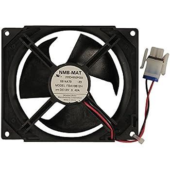 Wr02x12008 ge refrigerator evaporator fan for Ge refrigerator evaporator fan motor problems