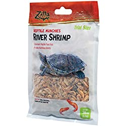 Zilla Reptile Munchies River Shrimp Reptile Food.35 oz.