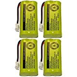 Axiom Rechargeable Battery For AT&T and Vtech Phones BT-8300 / BATT-6010 / BT18433 / BT184342 / BT28433 / BT284342 / 89-1326-00-00 / 89-1330-01-00 / CPH-515D (4-Pack)