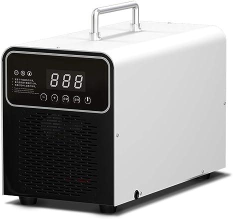 MZBZYU Generador de ozono Portátil 3.000mg/h Purificador De Aire De Ozono con Temporizador para La Esterilización De Formaldehído en El Hogar, Humo De Automóviles y ...