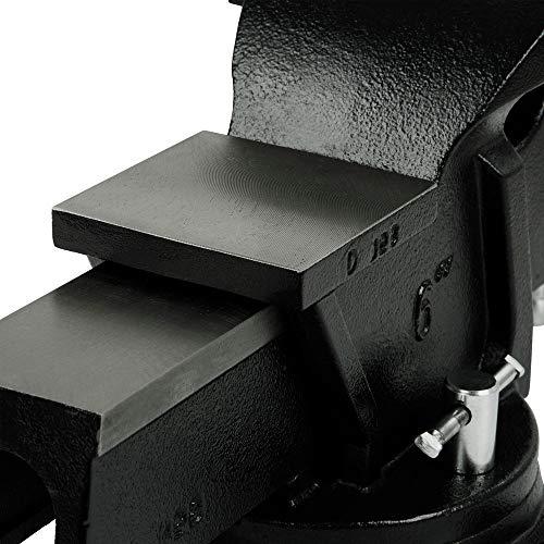 DeWalt DXCMBV6 6 In. Heavy-Duty Bench Vise with Swivel Base
