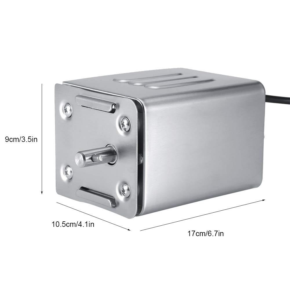 Barbecue Allaperto Motore per Barbecue Elettrico in Acciaio Inox 50-70Kgf per Cene in Famiglia Motore Girarrosto per Barbecue Spina UE 220V