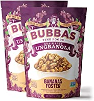 Bubba's Foods Grain Free Granola, Bananas Foster, 6oz (Pack of 2) | Paleo, Gluten Free, Low S