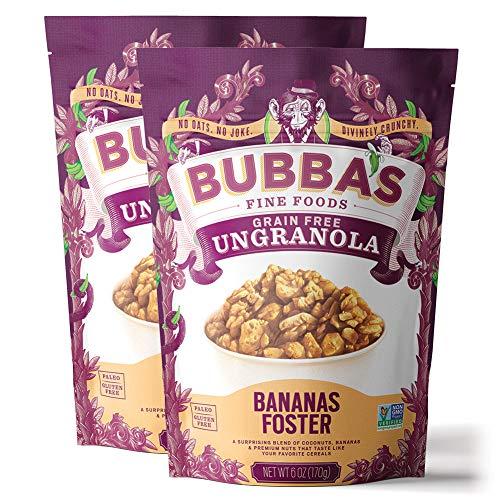 🥇 Bubba's Foods Grain Free Granola