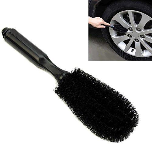 (Car Vehicle Motorcycle Wheel Tire Rim Scrub Brush Washing Cleaning Tool Cleaner)