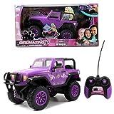 Jada Toys Girlmazing Purple Jeep Wrangler 1:16 Scale RC Vehicle