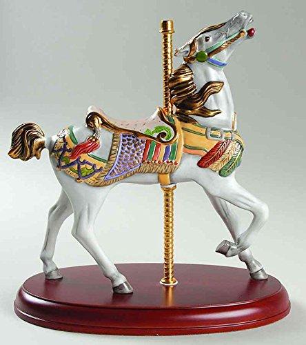 (Lenox Smithsonian Institute Americana White Carousel Horse Coney Island Limited Edition)