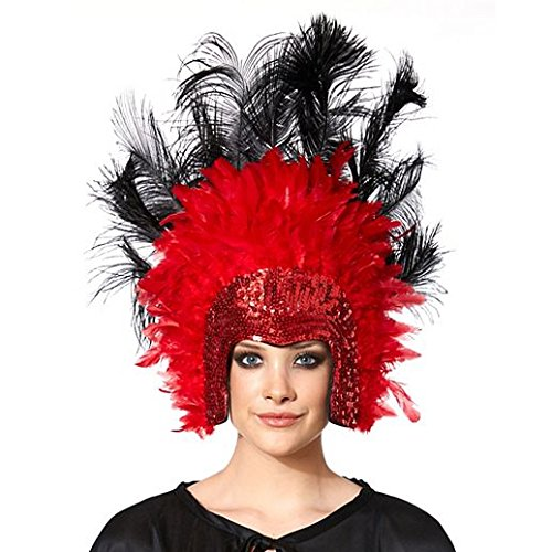 Las Vegas Party Costumes (Costume Beautiful Vegas Showgirl Headpiece)
