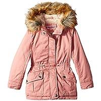 Urban Republic Toddler Girls Cotton Twill Jacket, Rose Smoke, 2T