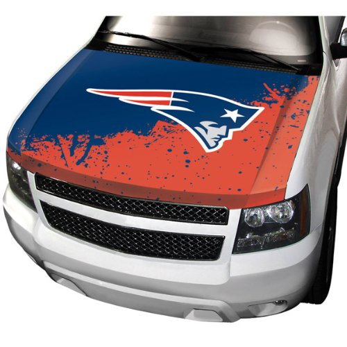 NFL New England Patriots Auto Hood Cover by Team ProMark