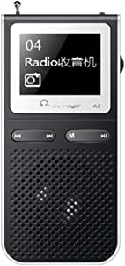 Mp3 Portable Player with Radio Fm Mp-3 Walkman Mp3 Player with Built-in Speakers Can Playing 100hours USB Speaker Speaker Audio Docks