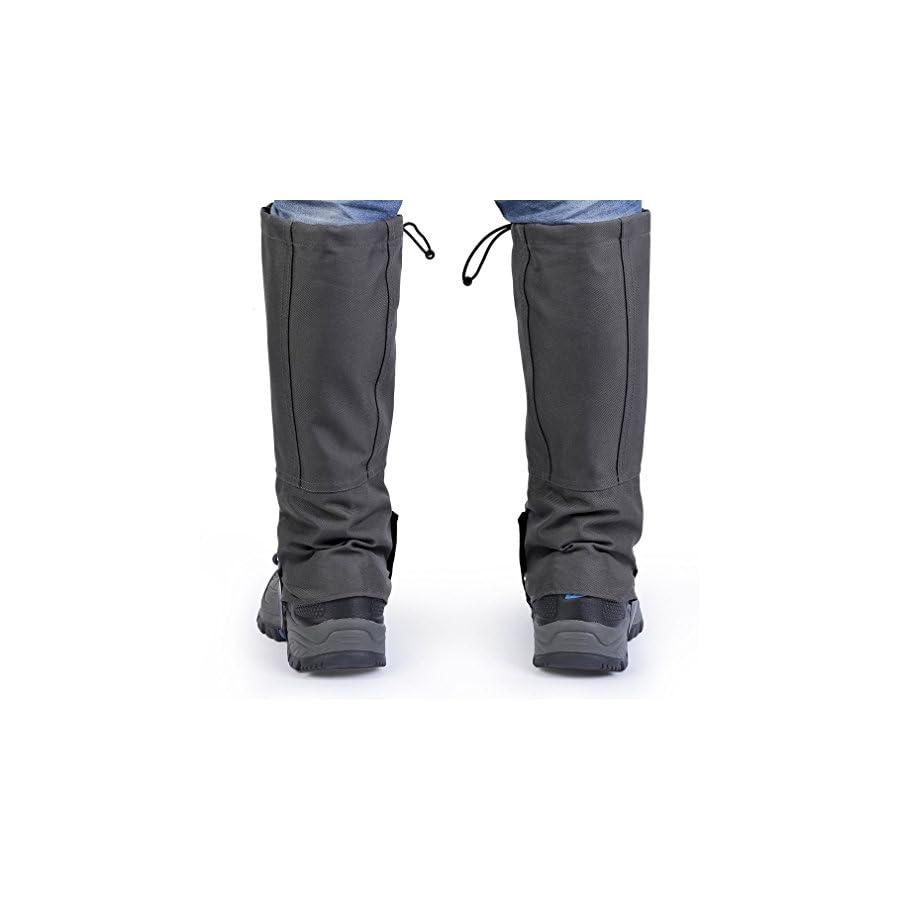 MIGVELA Outdoor Waterproof Legging Gaiters High Snow Leg Cover for Climbing Hunting Walking Hiking …